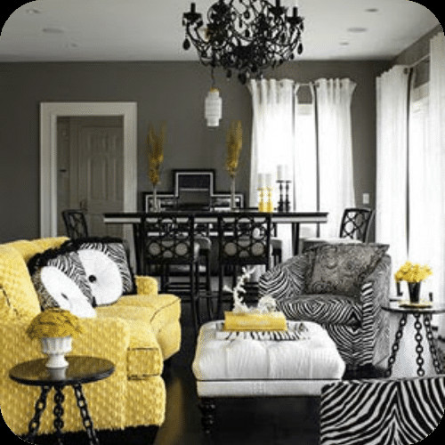 Yellow and Grey Room Decor Elegant Decorating with Yellow and Gray