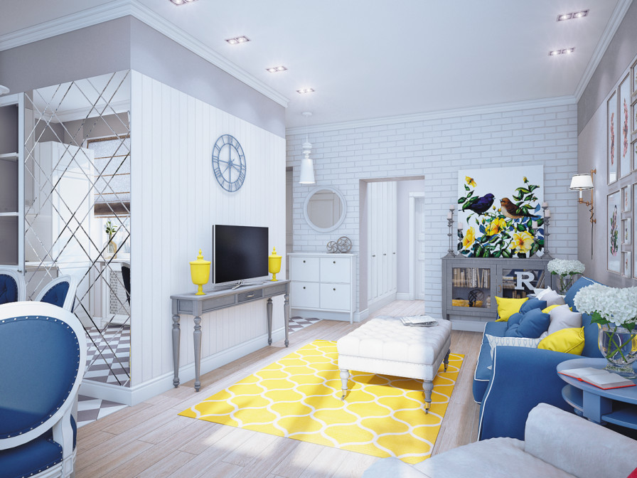 Yellow and Grey Room Decor Inspirational Blue and Yellow Home Decor