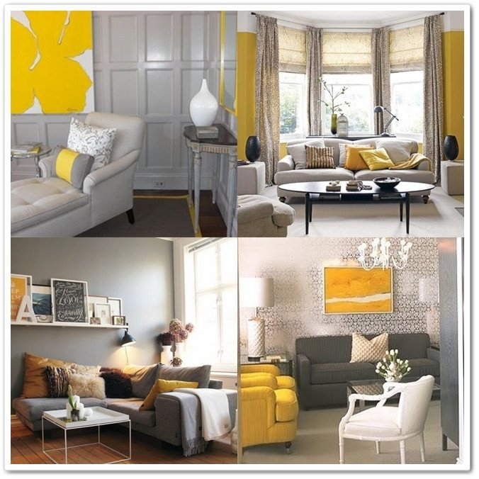 Yellow and Grey Room Decor Unique I Heart Home Decor Grey & Yellow