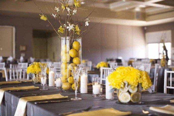 Yellow and Grey Wedding Decor Awesome A Fresh Gray and Yellow Wedding A Good Affair event Design A Good Affair