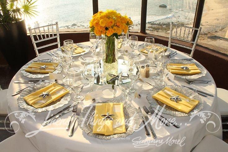 Yellow and Grey Wedding Decor Fresh Yellow and Gray Wedding Centerpieces