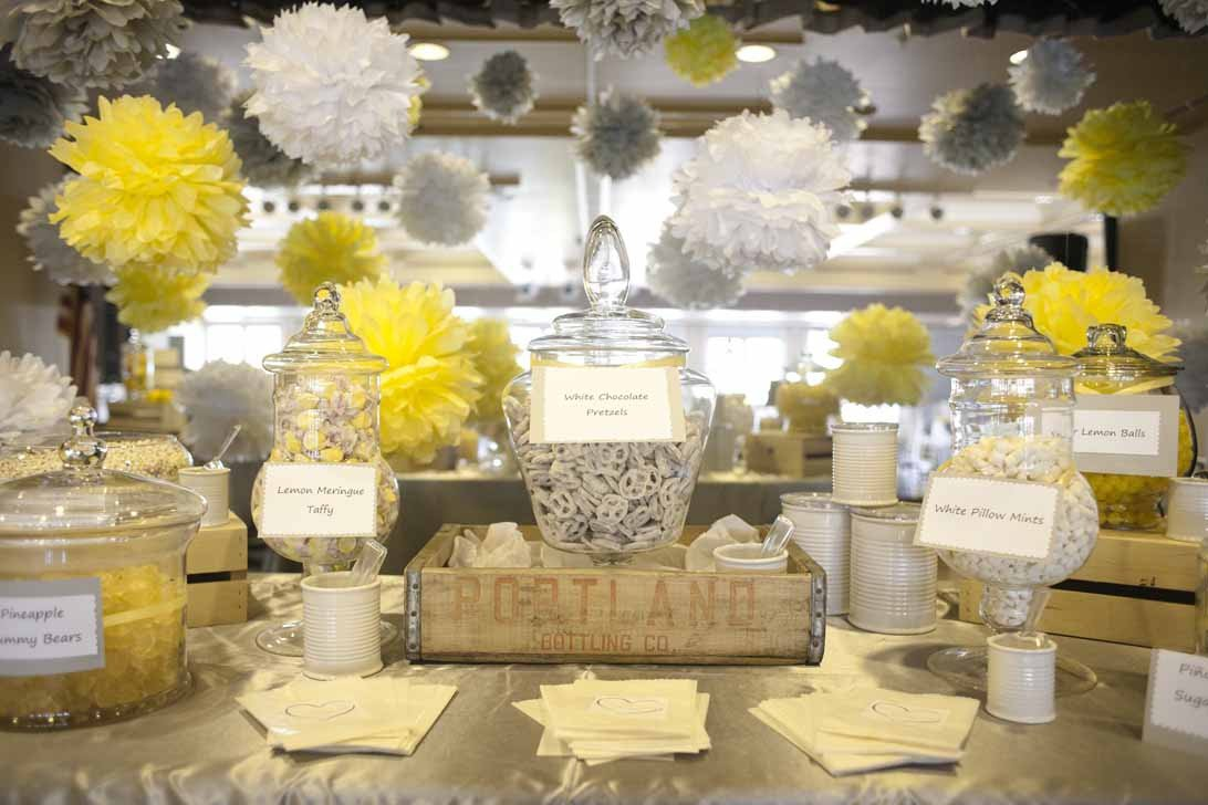 Yellow and Grey Wedding Decor Inspirational A Fresh Gray and Yellow Wedding A Good Affair event Design A Good Affair