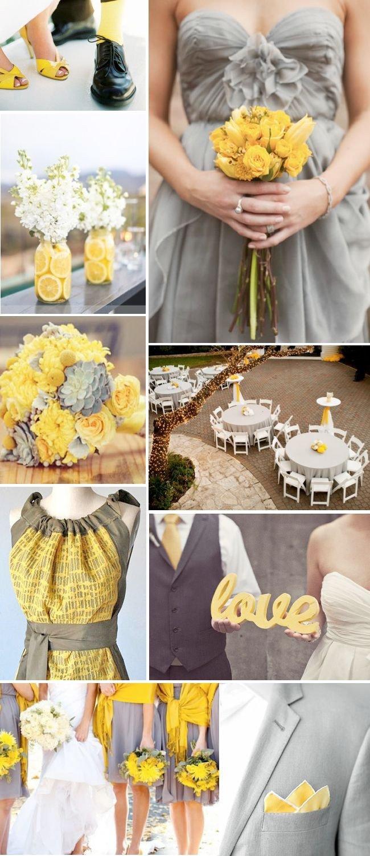 Yellow and Grey Wedding Decor Inspirational Best 25 Yellow Grey Weddings Ideas On Pinterest