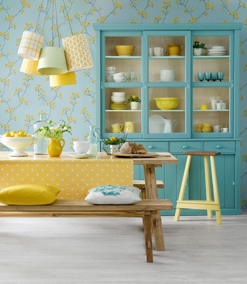 Yellow and Turquoise Home Decor Inspirational Yellow Decorating Ideas Breakfast Nook Decorating Ideas