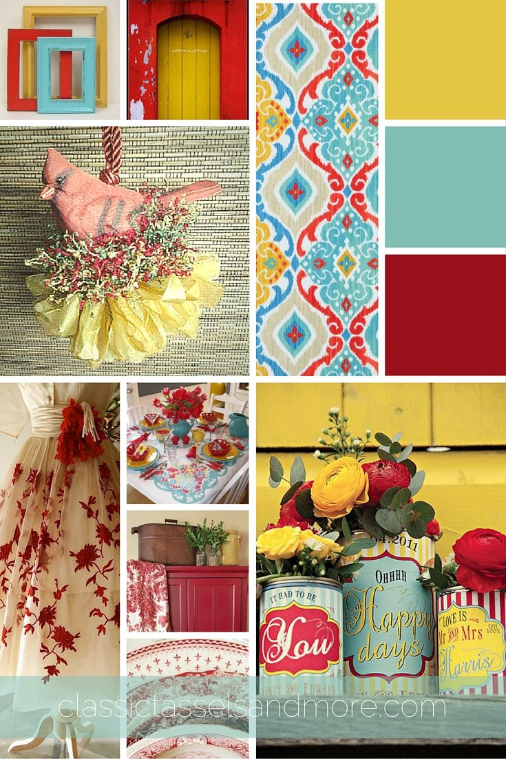 Yellow and Turquoise Home Decor Lovely A February Mood Board Decorating with Red Turquoise and Yellow – Design Impressions