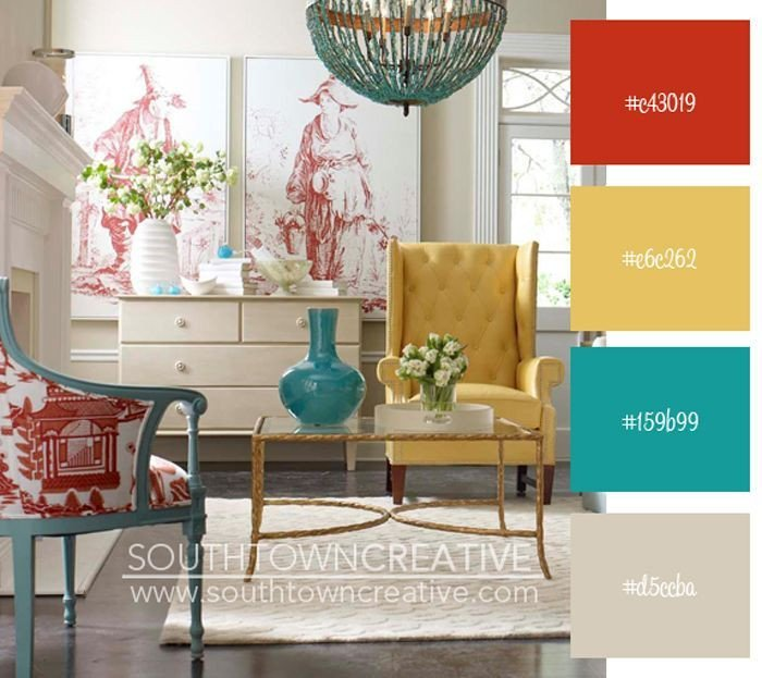 Yellow and Turquoise Home Decor Luxury Gray Yellow Teal Red Kitchen Decor Google Search Country Color Decor
