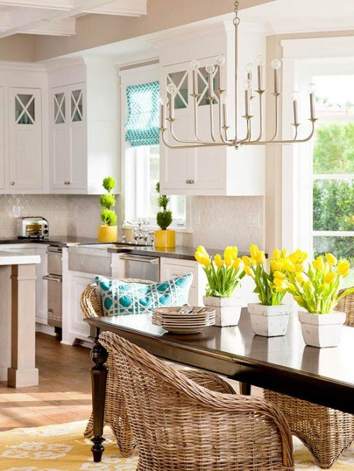 Yellow and Turquoise Home Decor Luxury How My Mind Wanders Yellow Turquoise & White Kitchen & A Barn Style French Door the