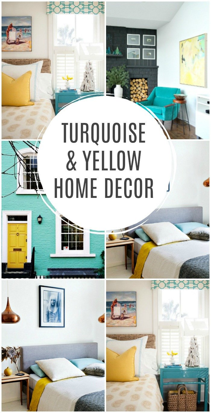 Yellow and Turquoise Home Decor Unique Turquoise and Yellow Home Decor Inspiration