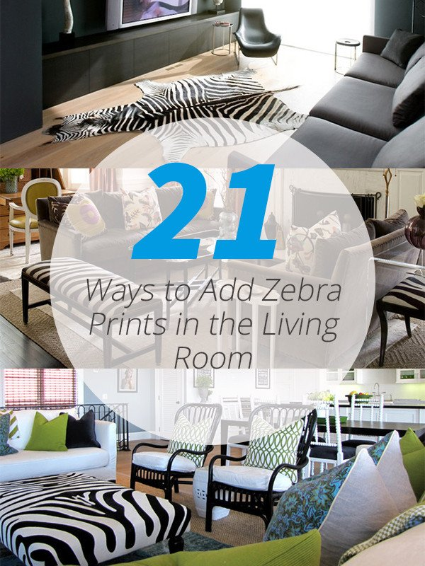 Zebra Decor for Living Room Beautiful 21 Ways to Add Zebra Prints In the Living Room