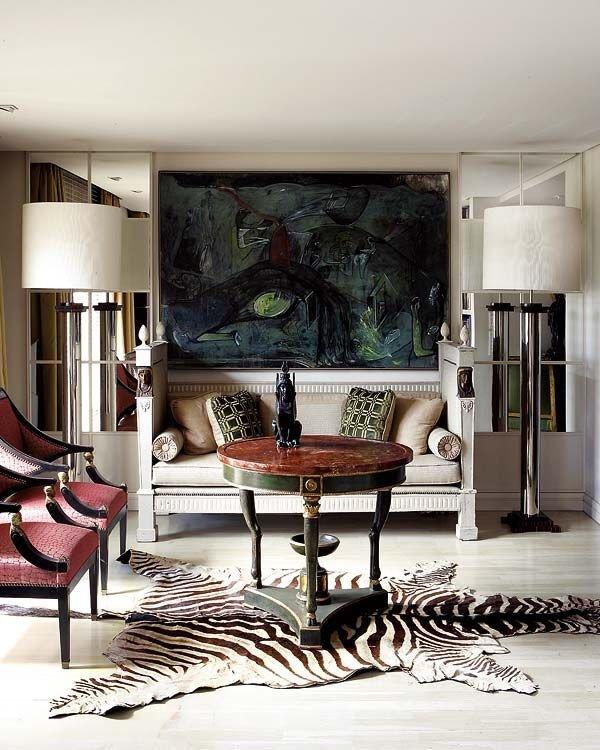 Zebra Decor for Living Room Inspirational Living Room Modern Interior Design & Decor Neutral & Zebra Inspired