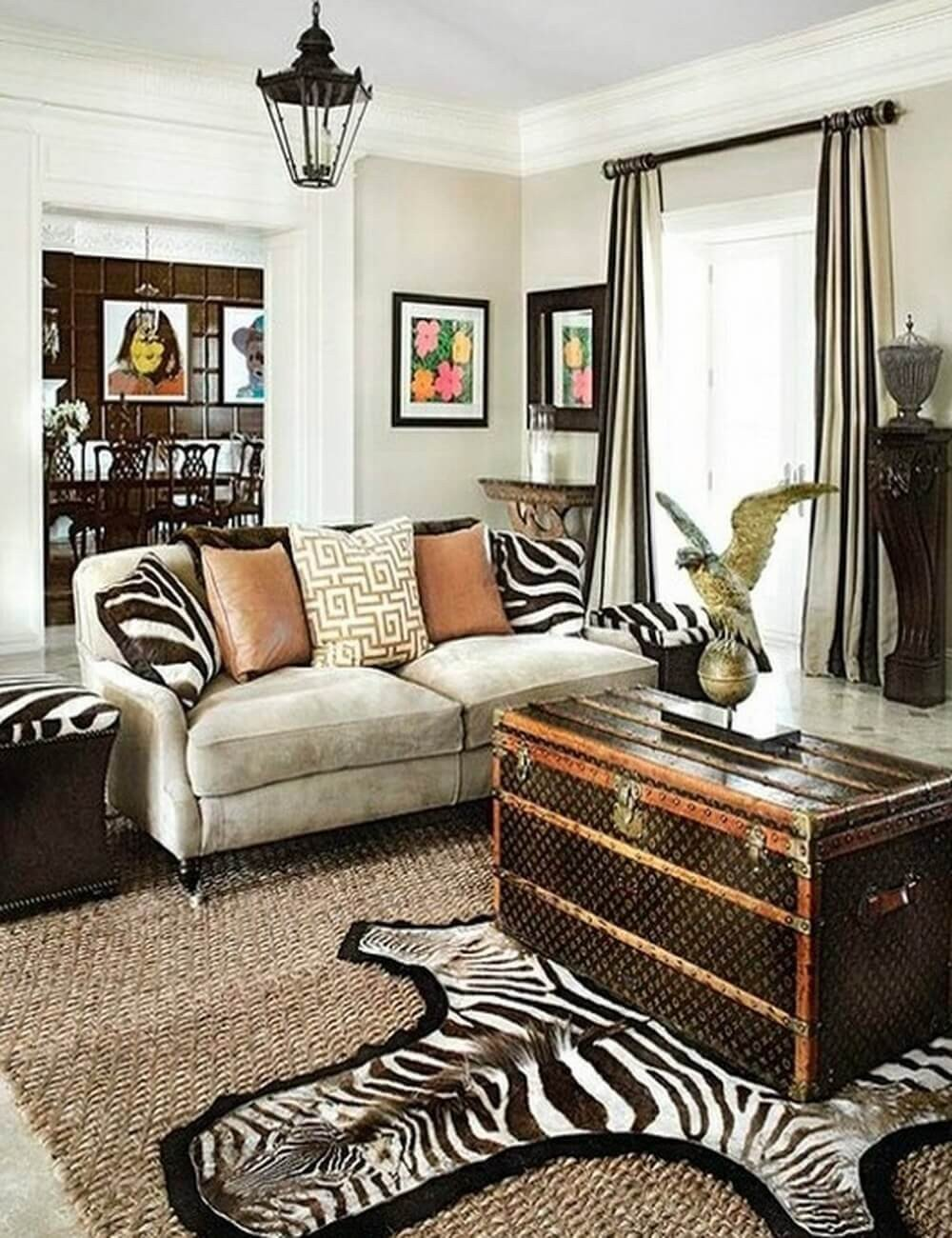 Zebra Decor for Living Room Inspirational Make Your Rooms Look Fierce and Wild by Using Zebra Print
