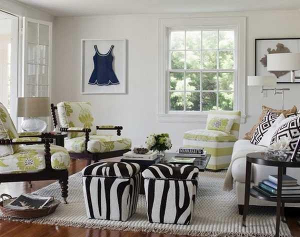 Zebra Decor for Living Room Lovely 21 Modern Living Room Decorating Ideas Incorporating Zebra Prints Into Home Decor