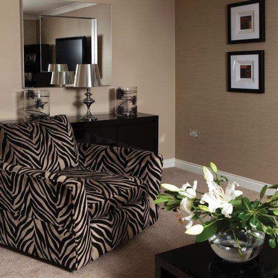 Zebra Decor for Living Room Lovely Bold Zebra Print Living Room Living Room