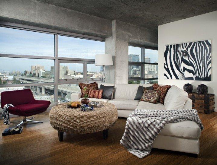 Zebra Decor for Living Room Luxury Dramatic Zebra Living Room Decoration Ideas