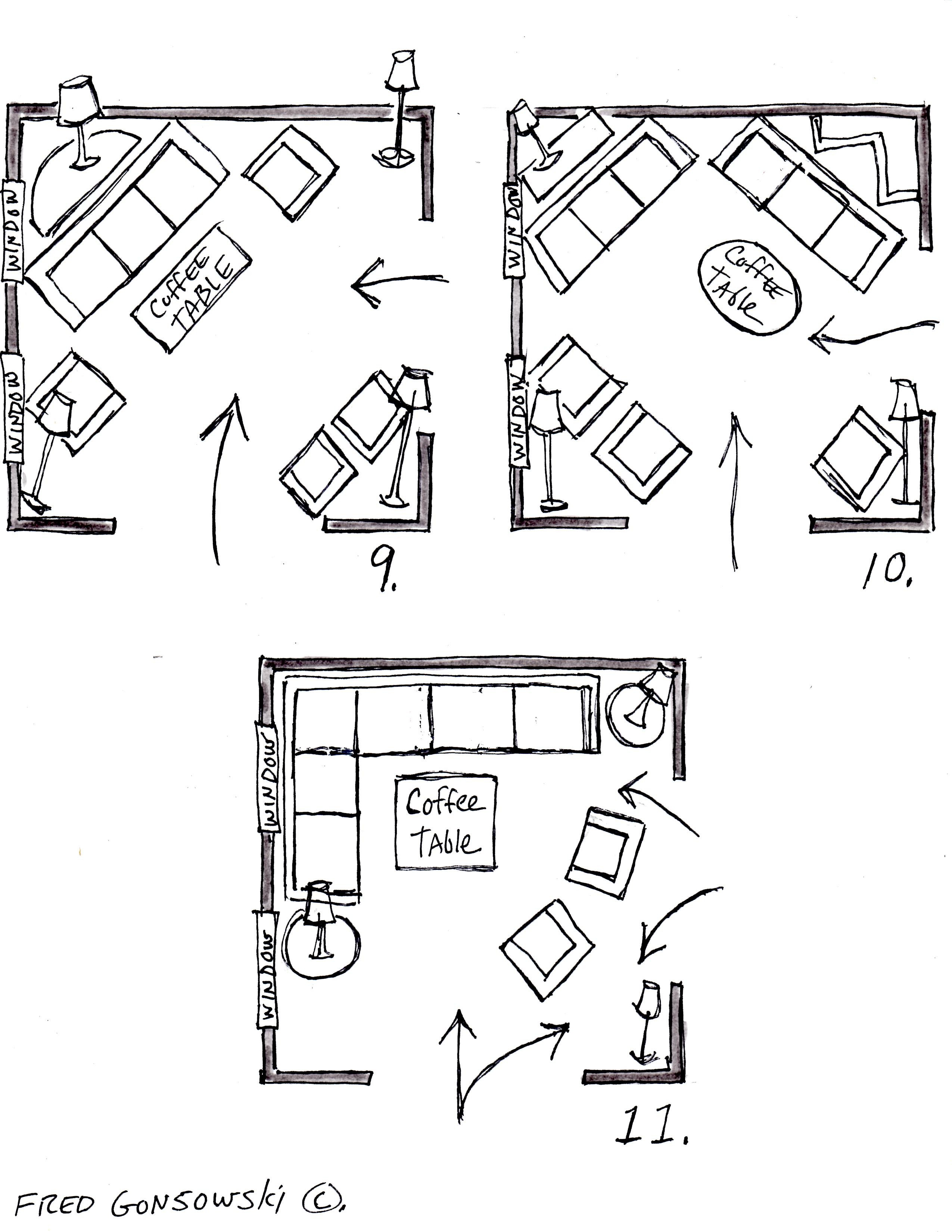 12x12 Bedroom Furniture Layout Awesome It S Easy to Arrange Furniture In A Square Living Room some