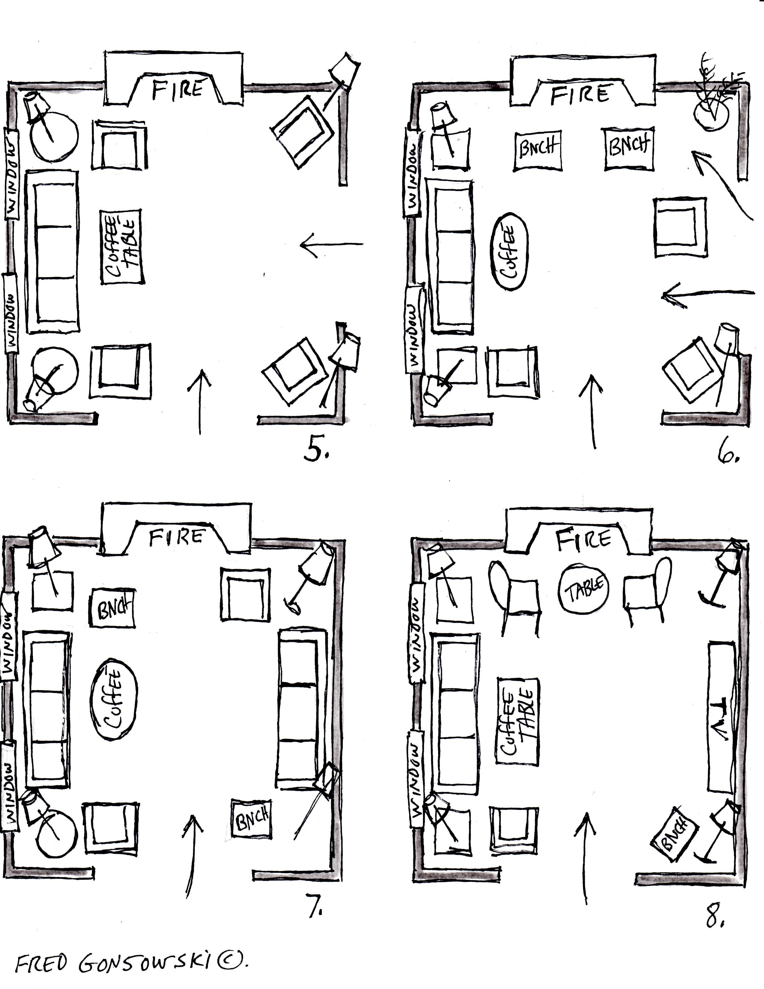 12x12 Bedroom Furniture Layout Luxury It S Easy to Arrange Furniture In A Square Living Room some