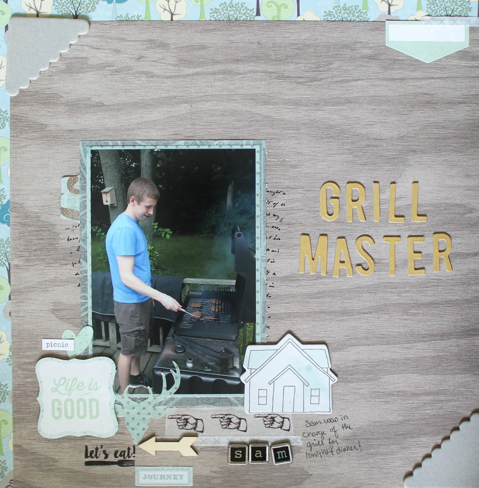 12x12 Bedroom Furniture Layout Unique Grill Master 12x12 Layout Gray Florals