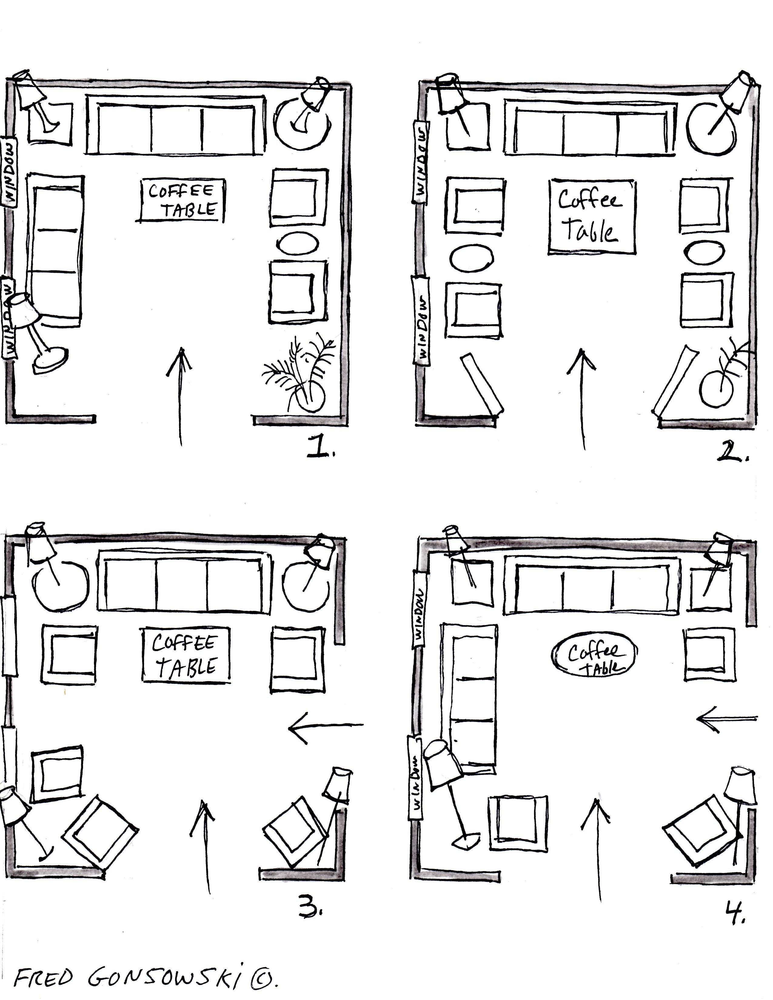 12x12 Bedroom Furniture Layout Unique It S Easy to Arrange Furniture In A Square Living Room some