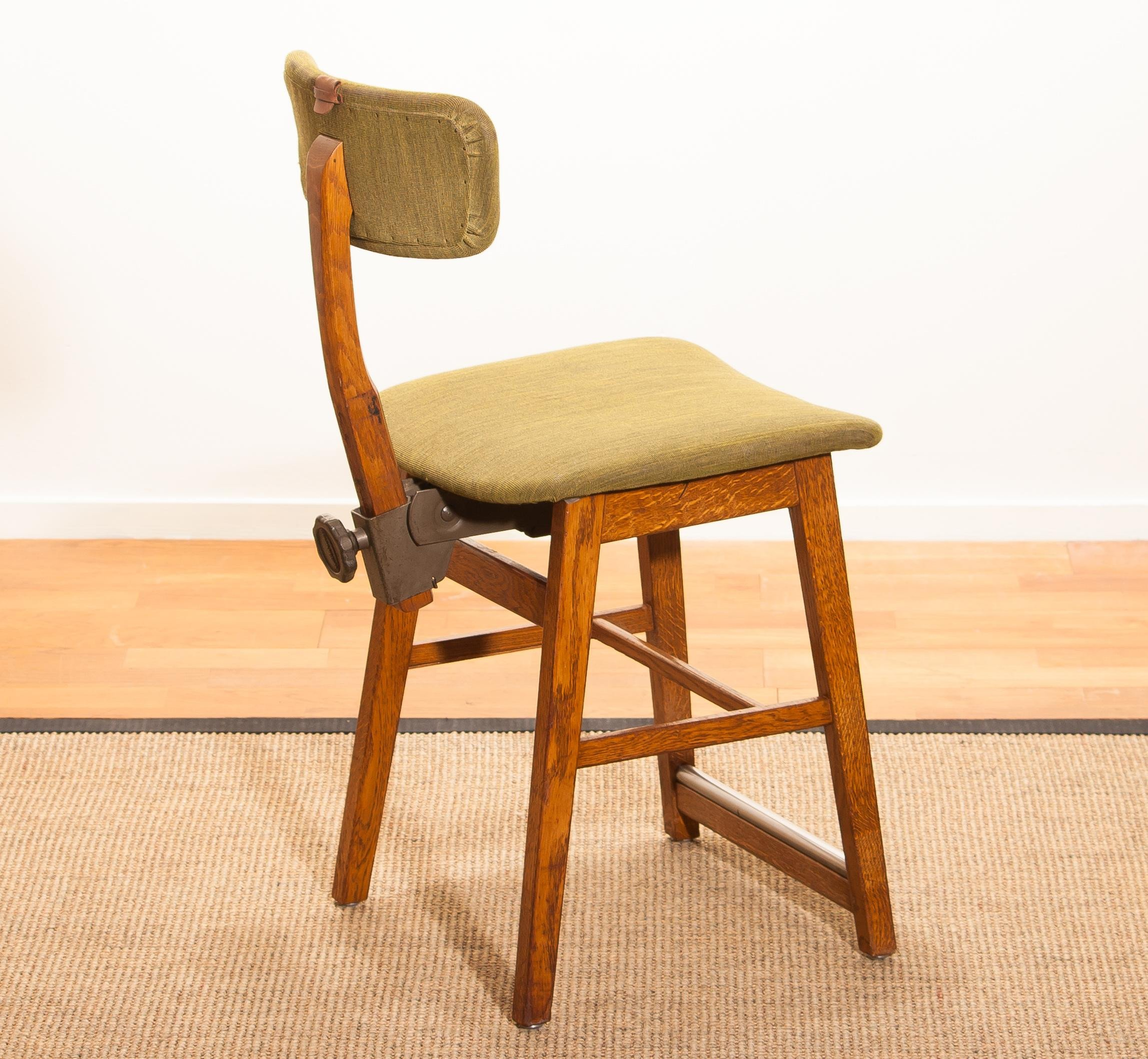 1940s Bedroom Furniture Styles Best Of 1940s Oak and Wool Desk Chair by 'tvidabergs Sweden for