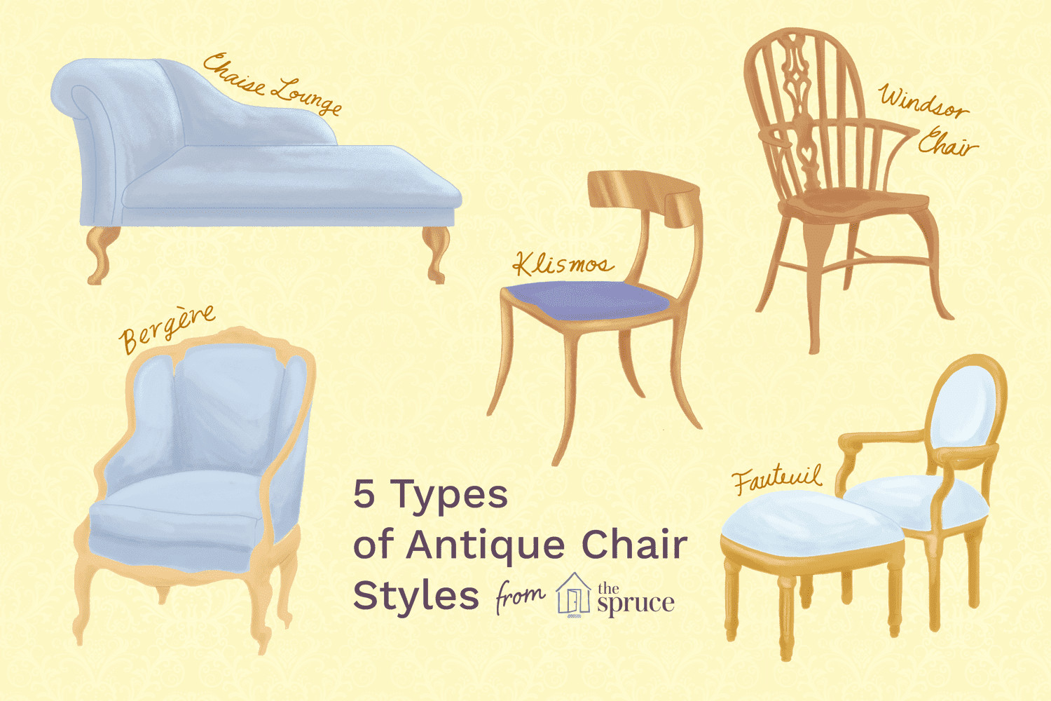 1940s Bedroom Furniture Styles New Learn to Identify Antique Furniture Chair Styles