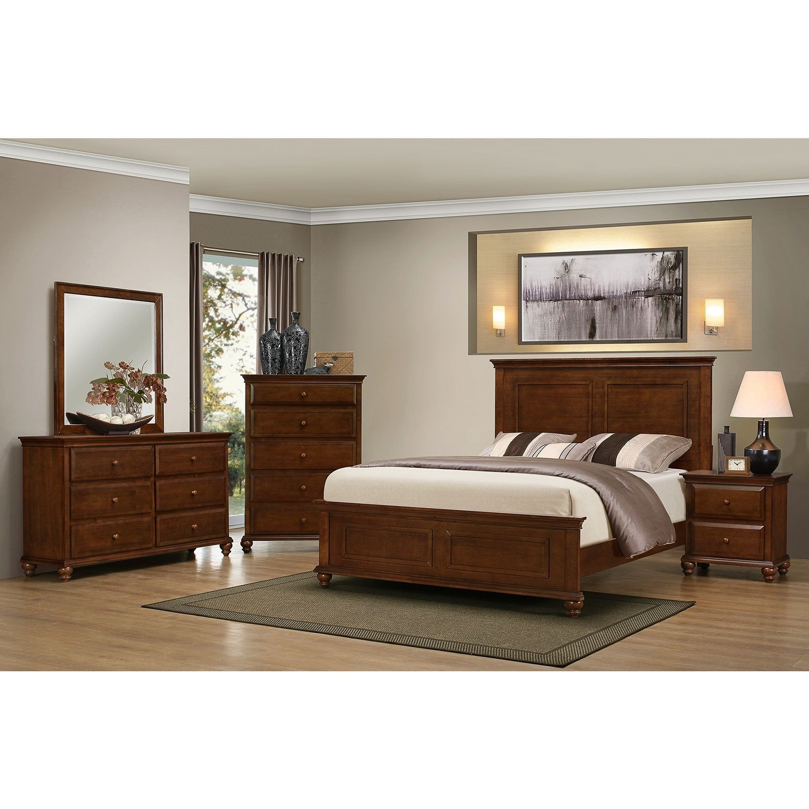 3 Piece Bedroom Furniture Set Awesome Simmons Casegoods Raleigh Collection 3 Piece Queen King