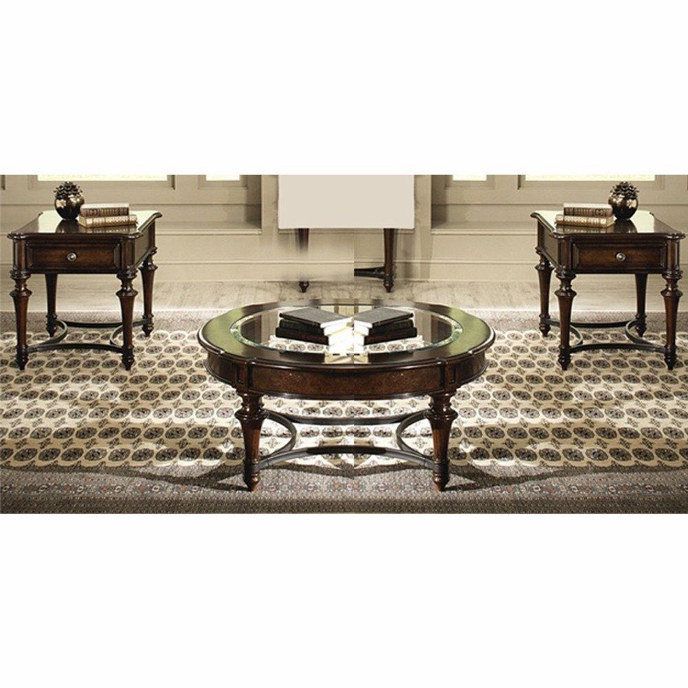 3 Piece Bedroom Furniture Set Elegant Liberty Furniture Kingston Plantation 3 Piece Round Occasional Set 720 Ot O3pcs