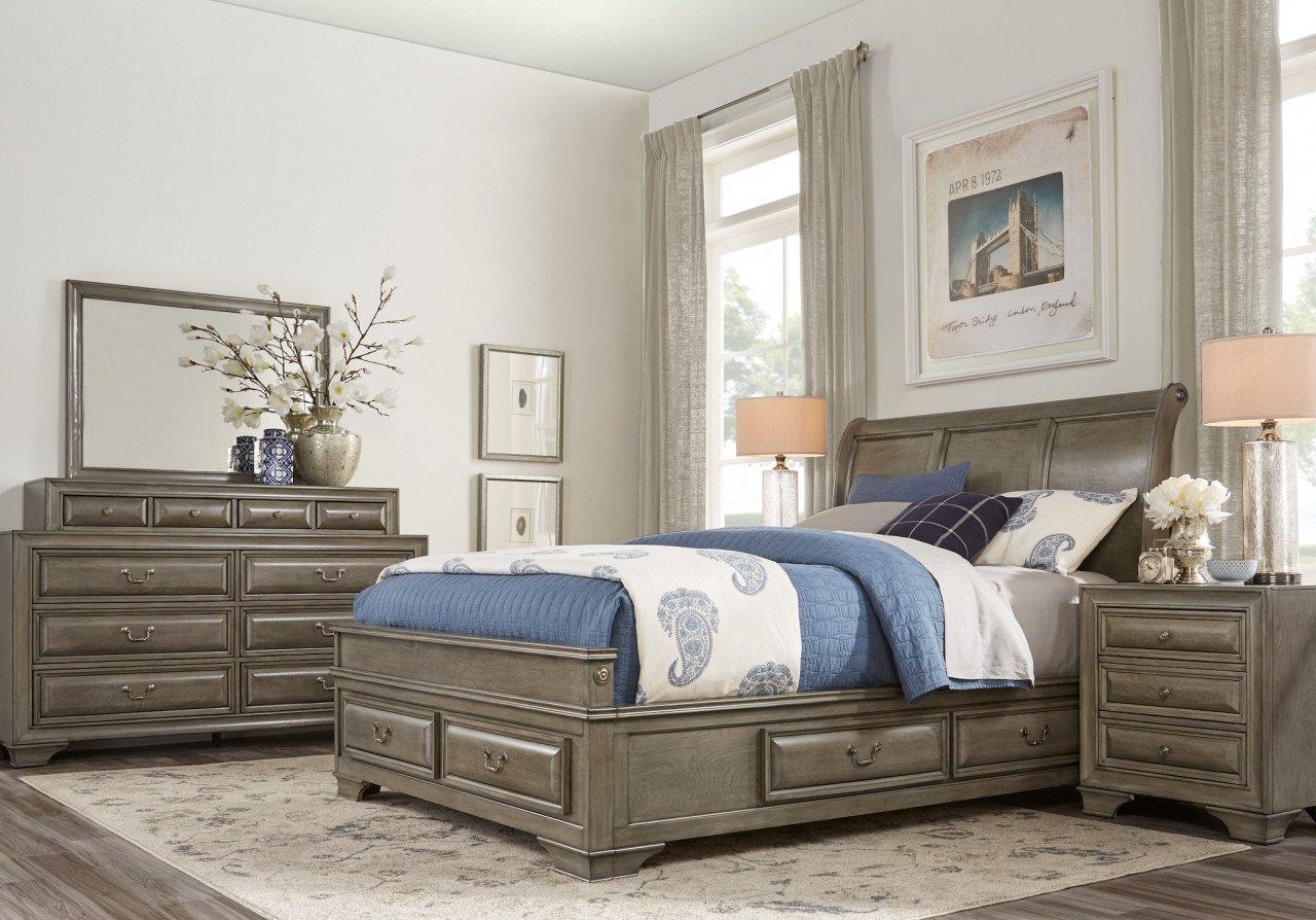 6 Piece Queen Bedroom Set New White Queen Platform Bed — Procura Home Blog