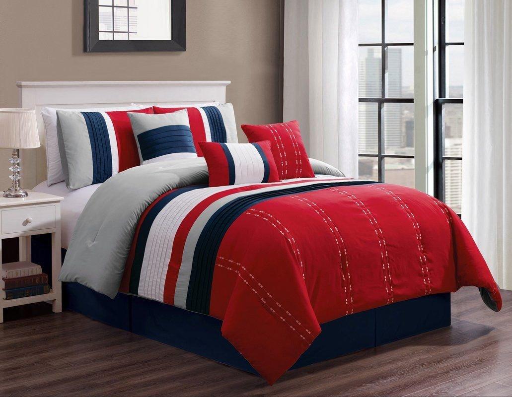 7 Piece Bedroom Set Inspirational Suniga 7 Piece Bed In A Bag Set
