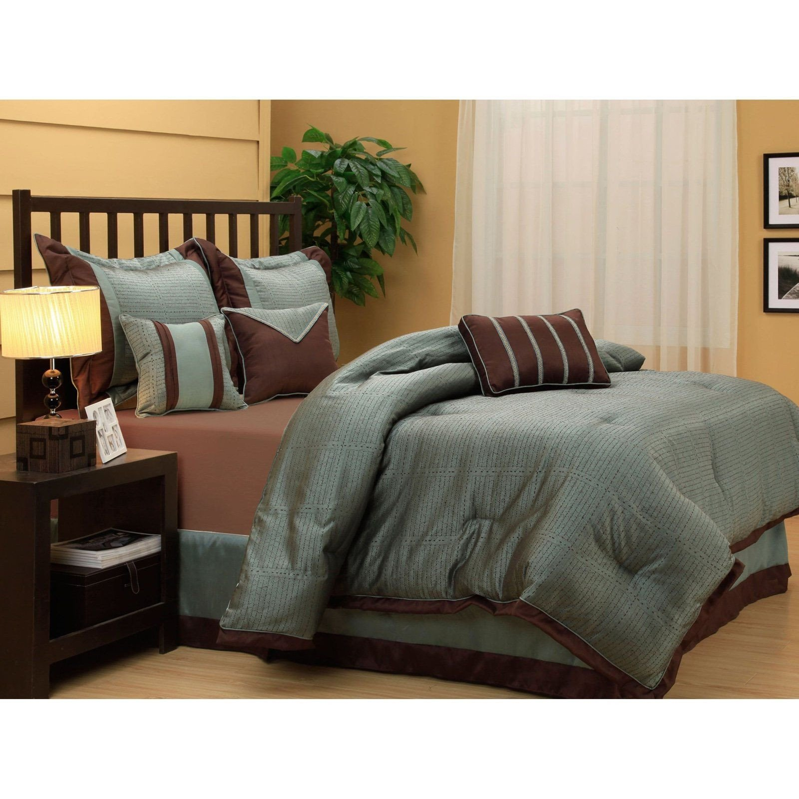 7 Piece Bedroom Set King Beautiful tobey 7 Piece Bedding Set by Nanshing