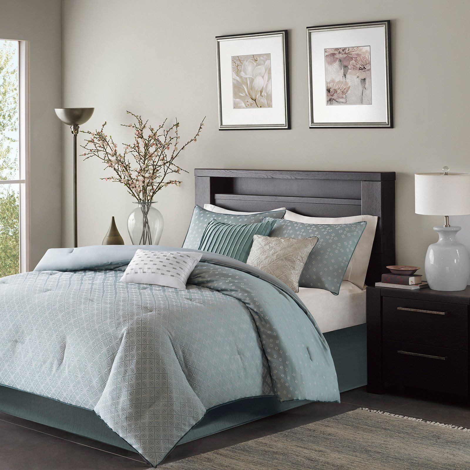7 Piece Bedroom Set New Biloxi 7 Piece forter Set by Madison Park Blue