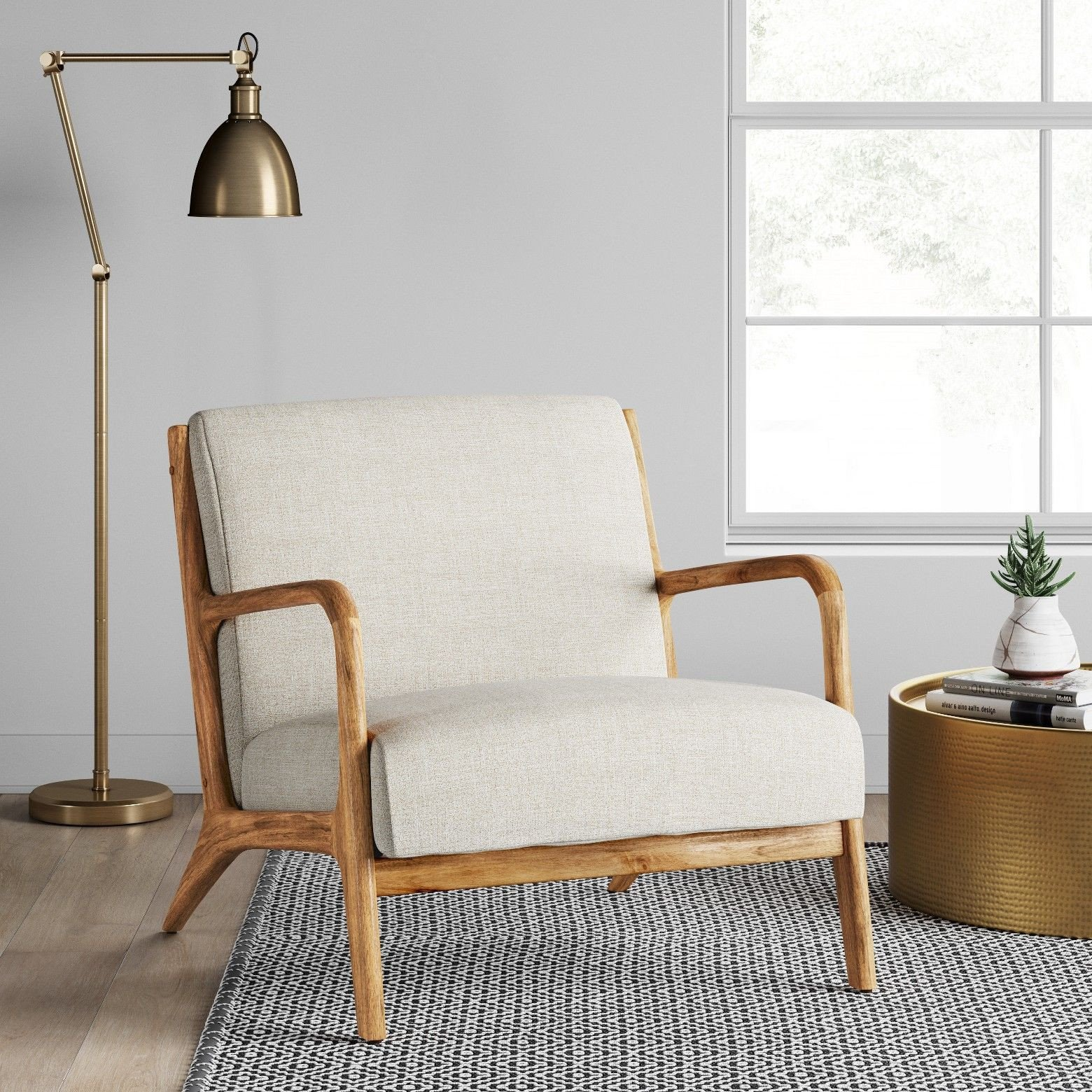 Accent Chairs for Bedroom Awesome for A touch Of Modern sophistication Place the Rodney Wood