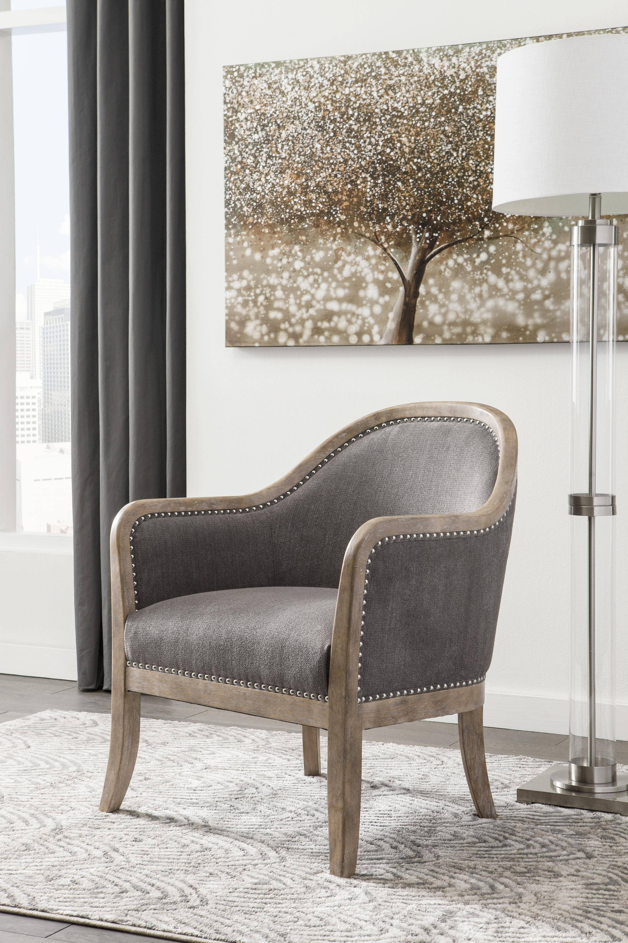 Accent Chairs for Bedroom Fresh ashley Engineer Accent Chair In Brown Faux Leather