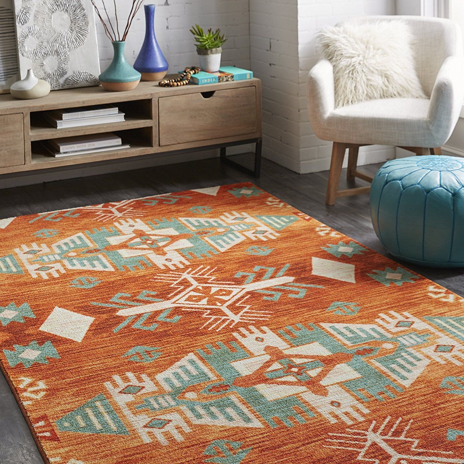 Accent Rugs for Bedroom Fresh Mohawk Home S Eidenau Sunset Aztec Rug Brings Boho to Your