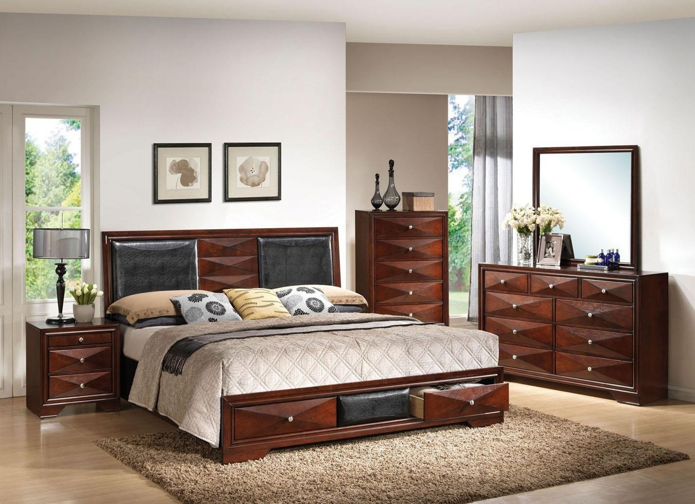 Acme Furniture Bedroom Set Inspirational Acme Furniture Windsor 5 Piece Bedroom Set