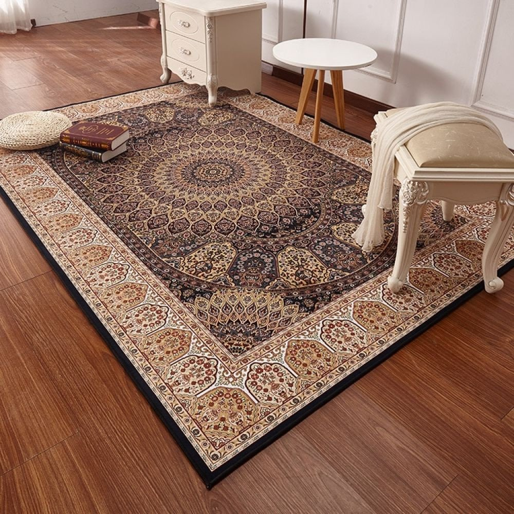 Area Rug for Bedroom Elegant Persian Style Carpets for Living Room Luxurious Bedroom Rugs