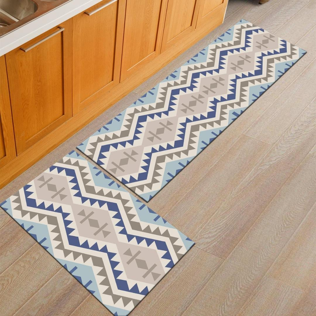 Area Rugs for Bedroom Beautiful Zeegle Geometric Doormats Flannel area Rug for Living Room Bedroom Bedside Mats Anti Slip Fice Chair Floor Mats Kitchen Rugs