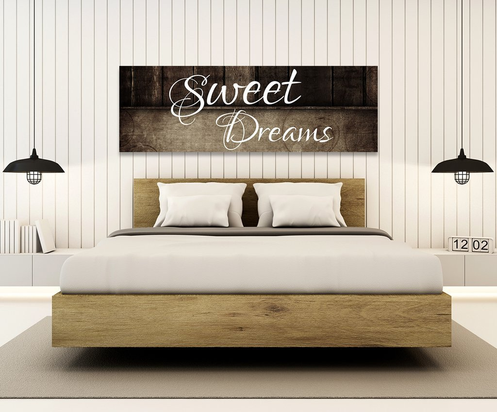 Arts for Bedroom Walls Awesome Sweet Dreams Wall Art Canvas Sweet Dreams the Bed