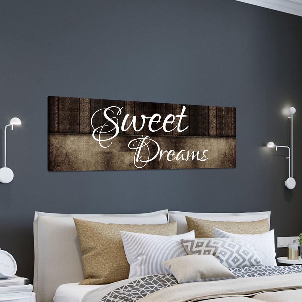 Arts for Bedroom Walls Elegant Sweet Dreams Wall Art Canvas Sweet Dreams the Bed