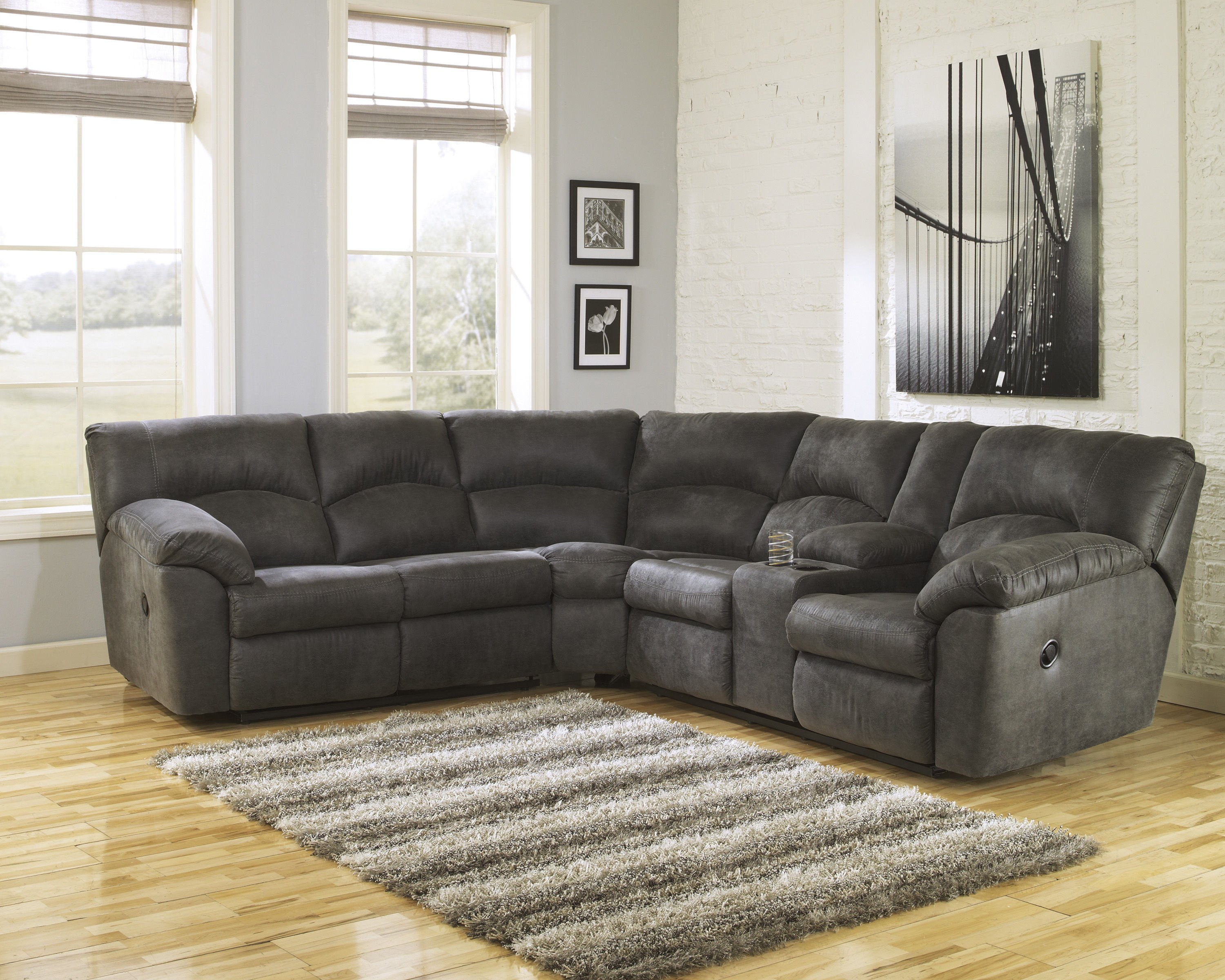 Ashley Bedroom Furniture Sale Fresh ashley Furniture Tambo Pewter Sectional