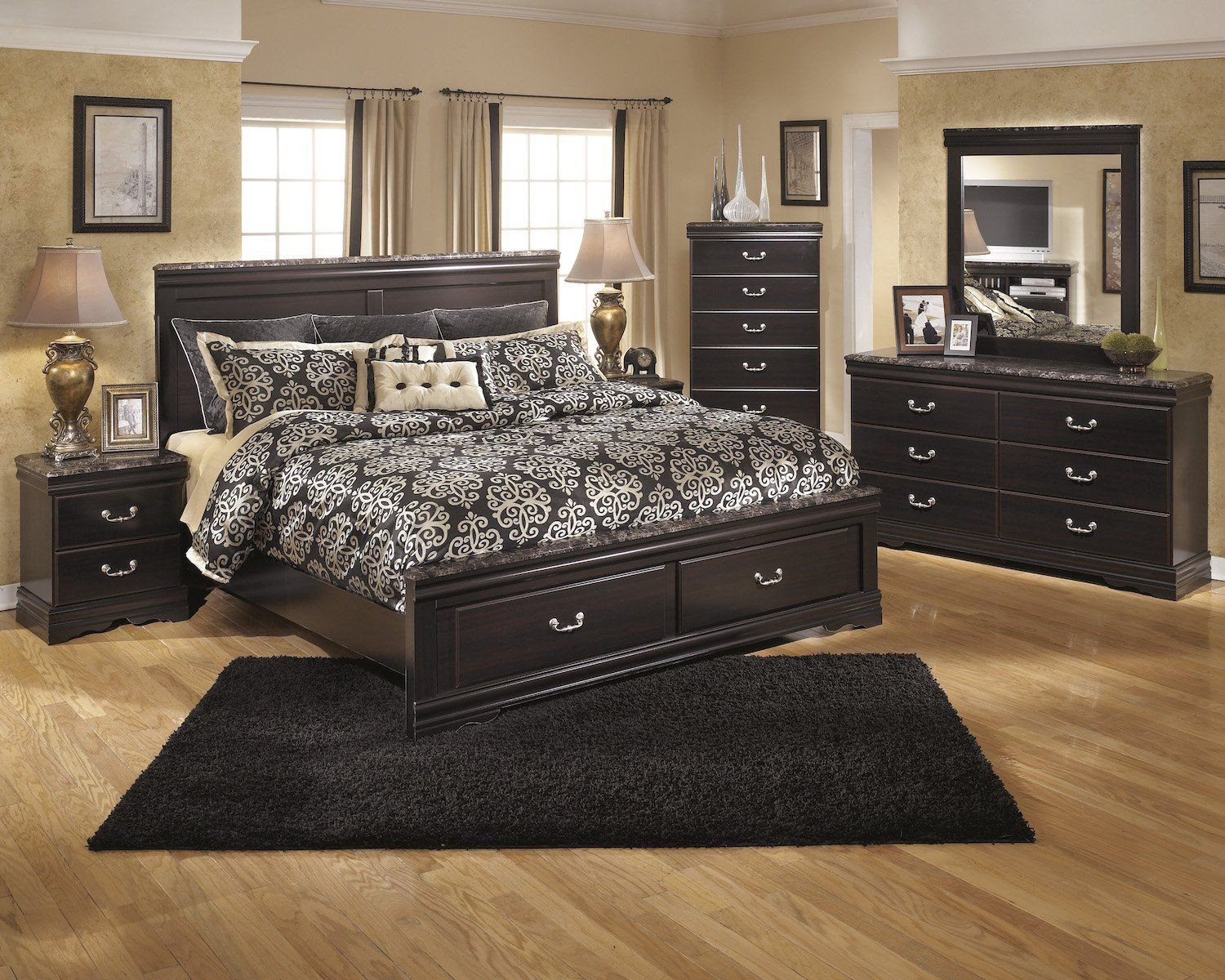 Ashley Catalina Bedroom Set Best Of ashley Esmarelda 5pc Queen Storage Bedroom Set with Chest In