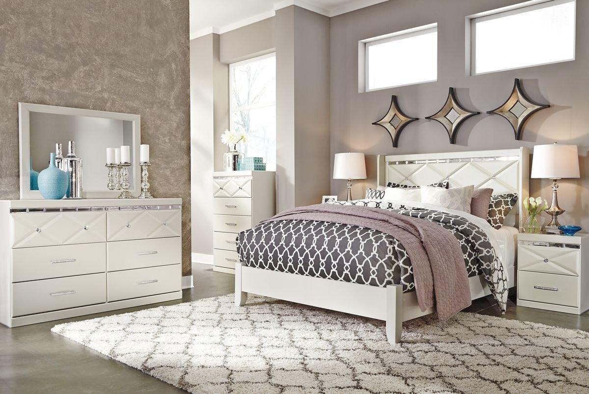 Ashley Catalina Bedroom Set Best Of ashley Furniture Dreamur Panel Bedroom Set In Champagne