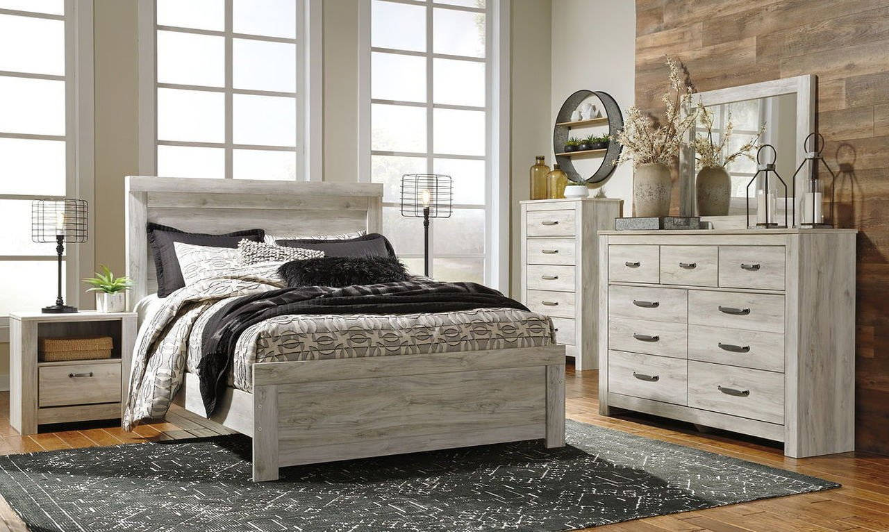 Ashley Catalina Bedroom Set New ashley Bellaby Whitewash Queen Bedroom Set