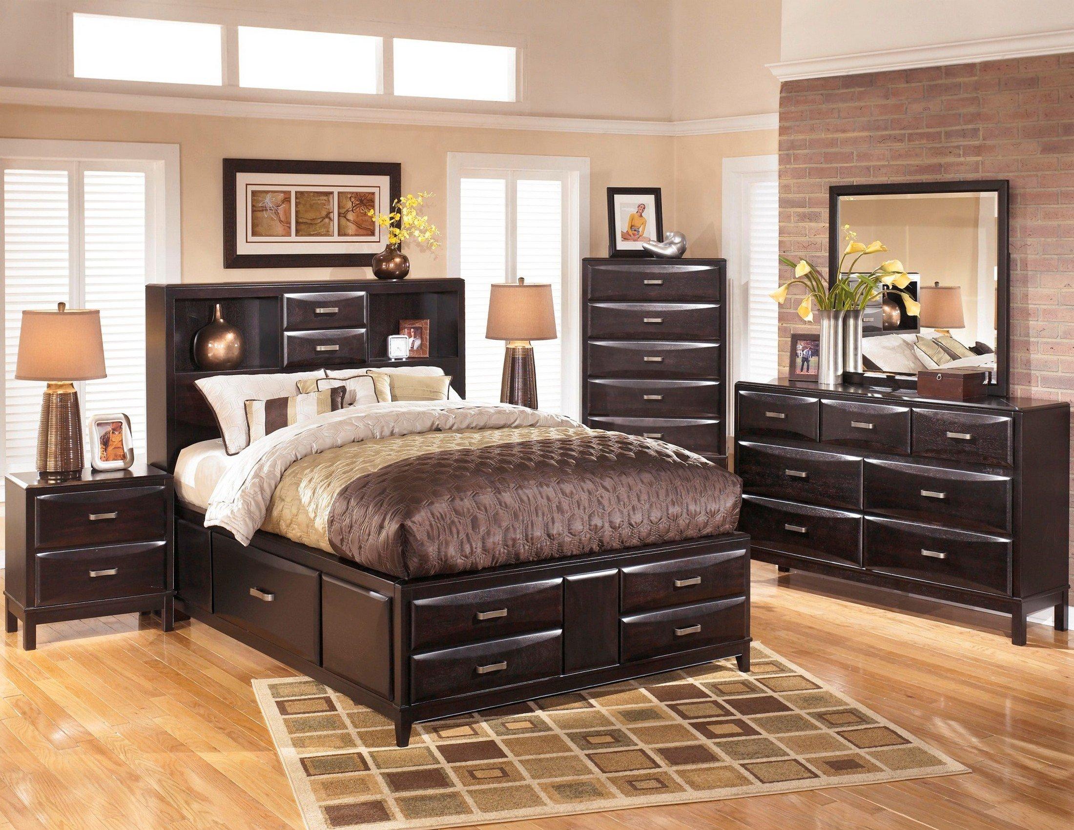 Ashley Catalina Bedroom Set New Kira Storage Platform Bedroom Set From ashley B473 64 65 98