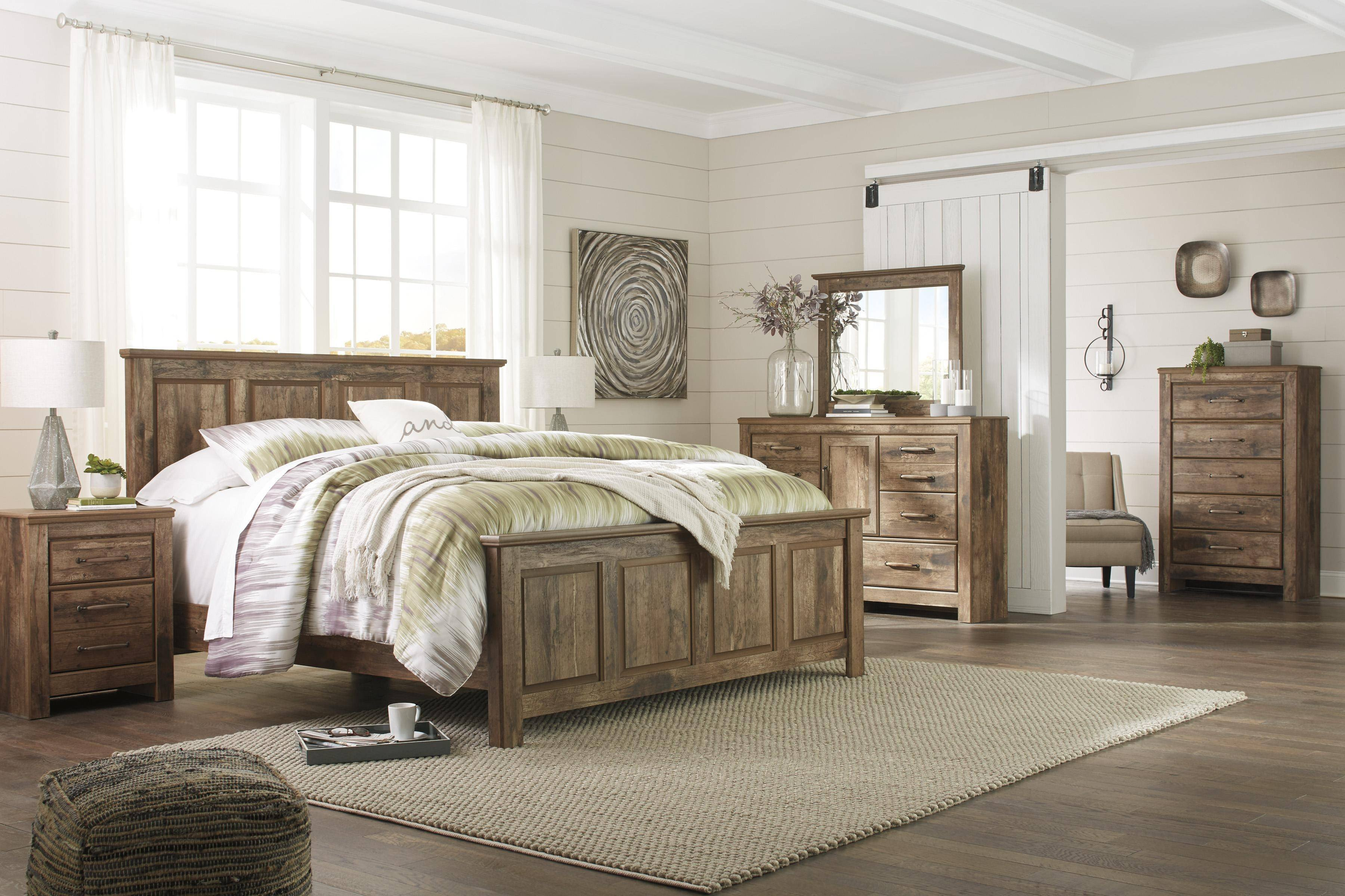 Ashley Furniture Bedroom Set 14 Piece Awesome ashley Blaneville B224 King Size Panel Bedroom Set 6pcs In