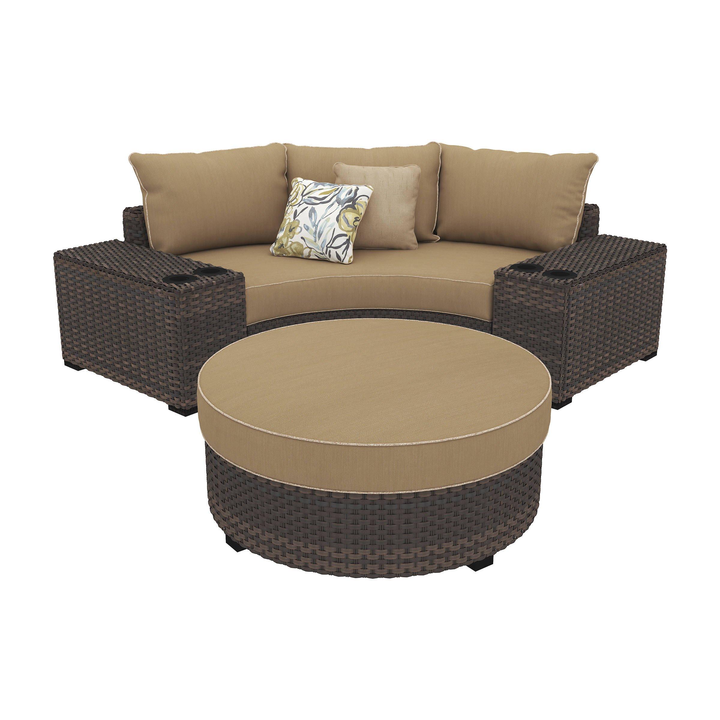 Ashley Furniture Bedroom Set 14 Piece Fresh ashley Furniture Spring Ridge Beige Corner Chair and Ottoman