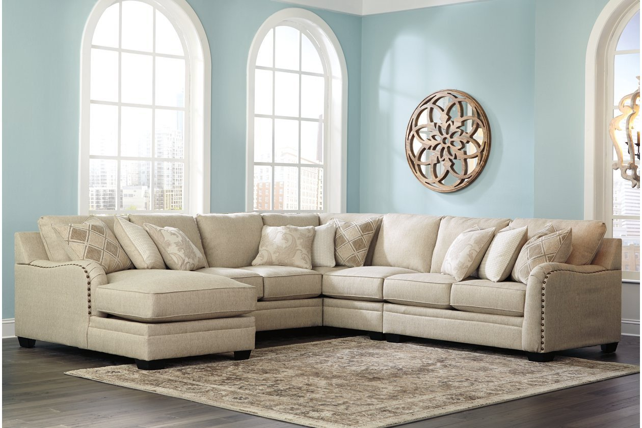 Ashley Furniture Bedroom Set 14 Piece Lovely Luxora 5 Piece Sectional with Chaise
