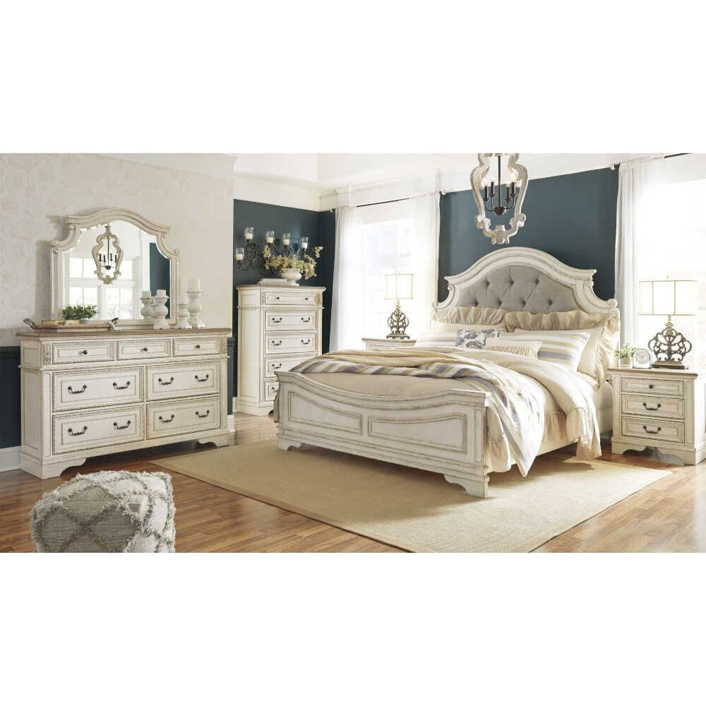 Ashley Furniture Bedroom Set 14 Piece Lovely Signature Design by ashley Realyn California King Panel 5