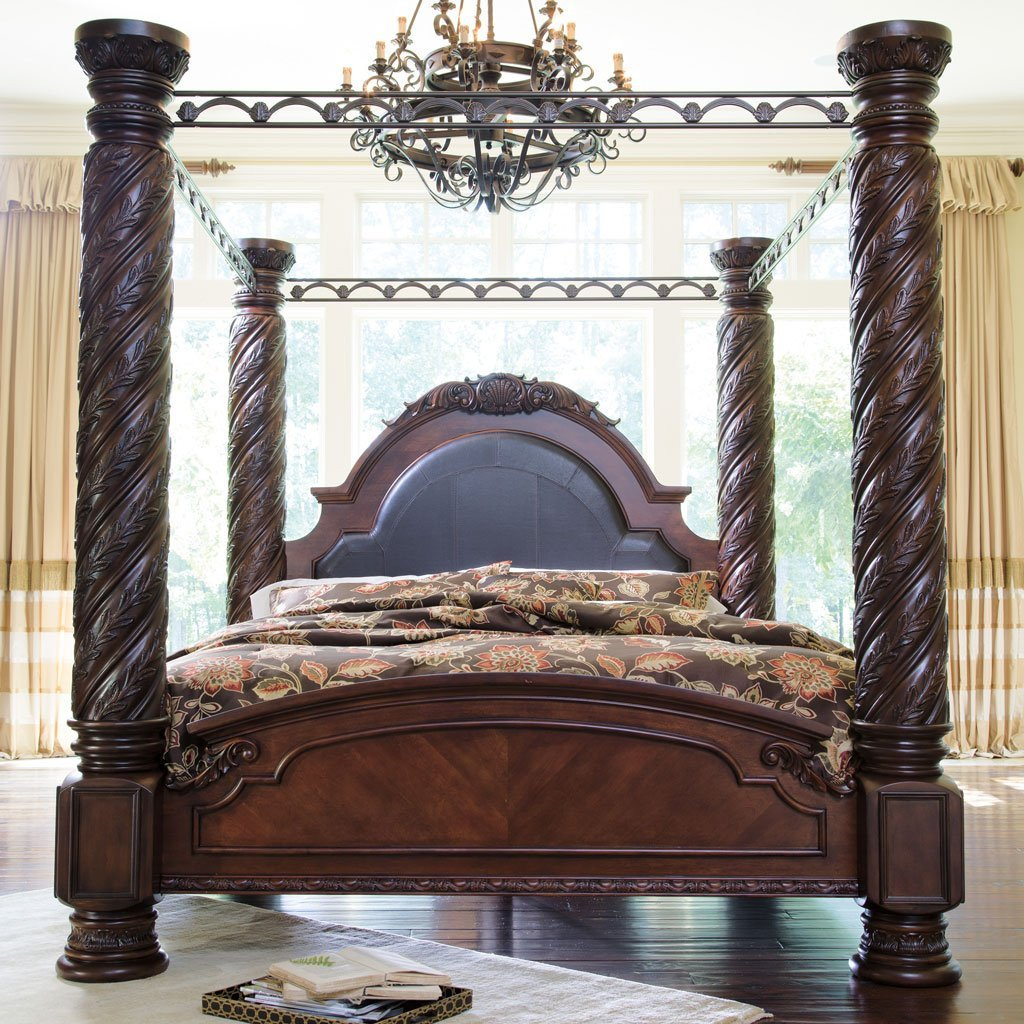 Ashley Furniture Canopy Bedroom Set Awesome north Shore Canopy Bed