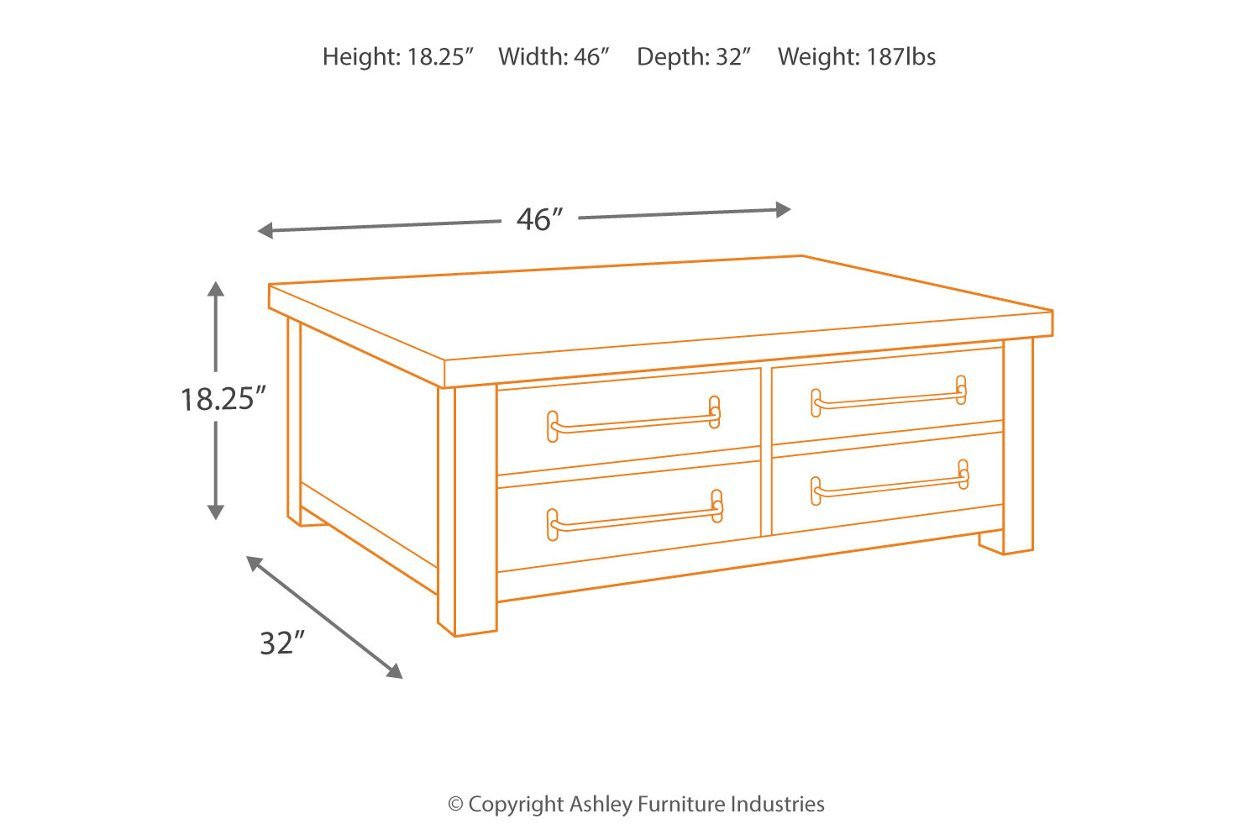 Ashley Furniture Kids Bedroom Lovely Starmore Coffee Table