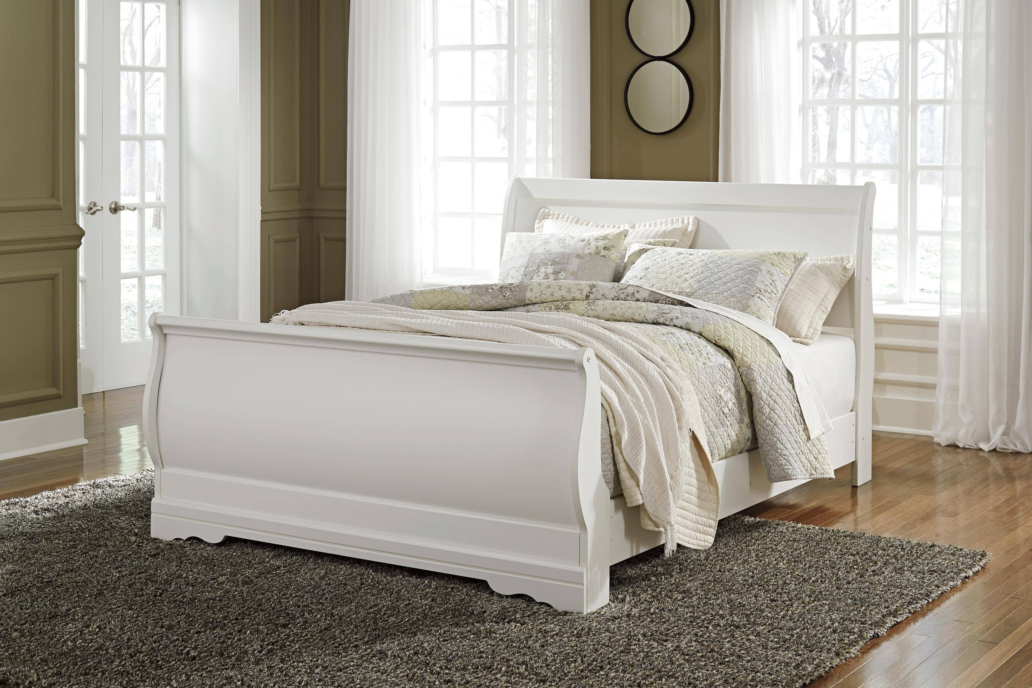Ashley Furniture Queen Size Bedroom Set Best Of ashley Anarasia B129 Queen Size Sleigh Bedroom Set 5pcs In